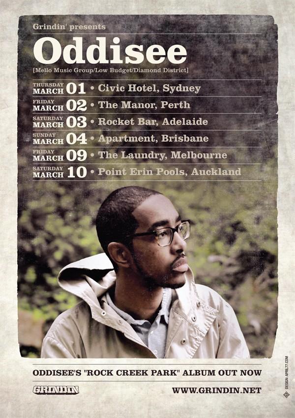 Oddisee Tour Australia