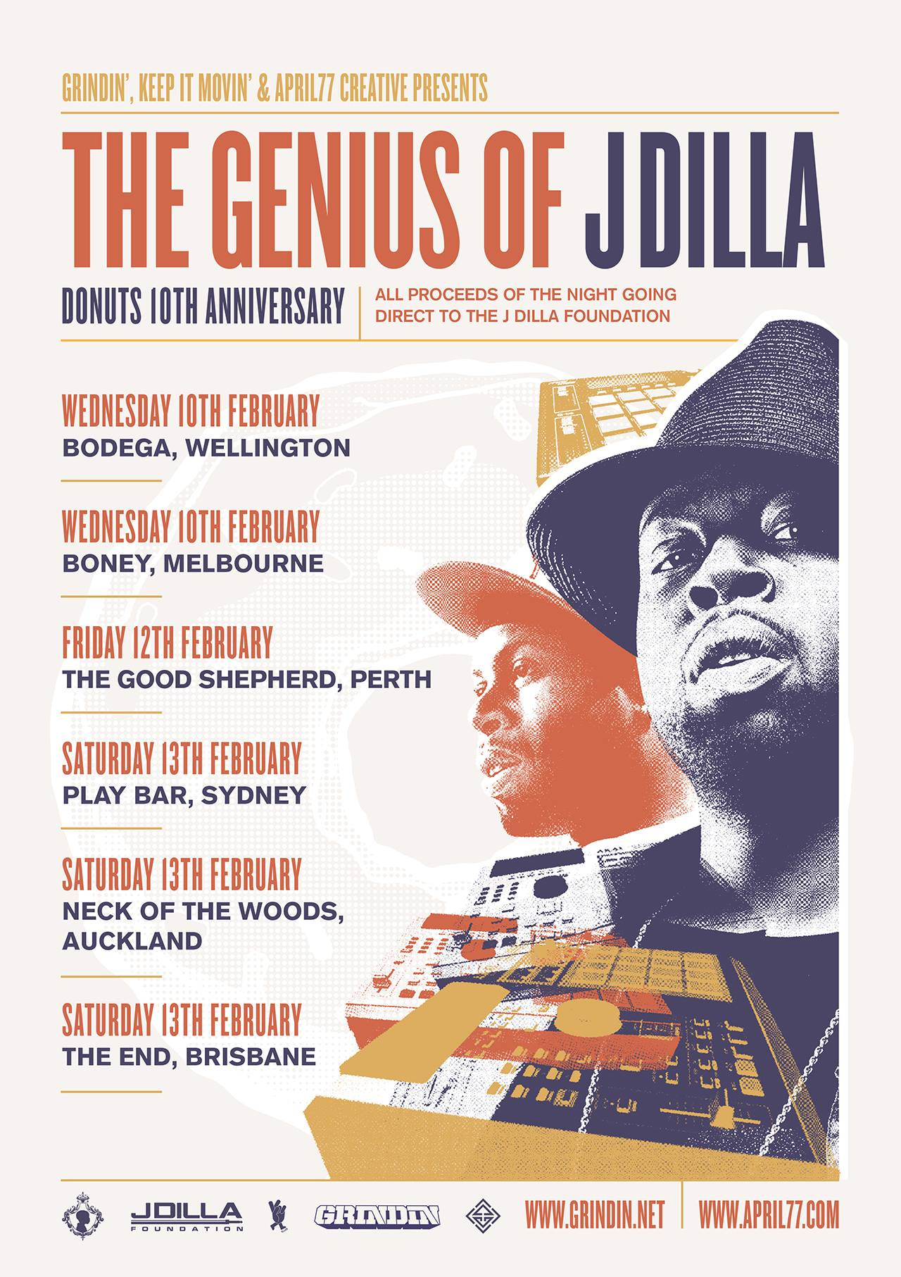 THE GENIUS OF J DILLA 2016