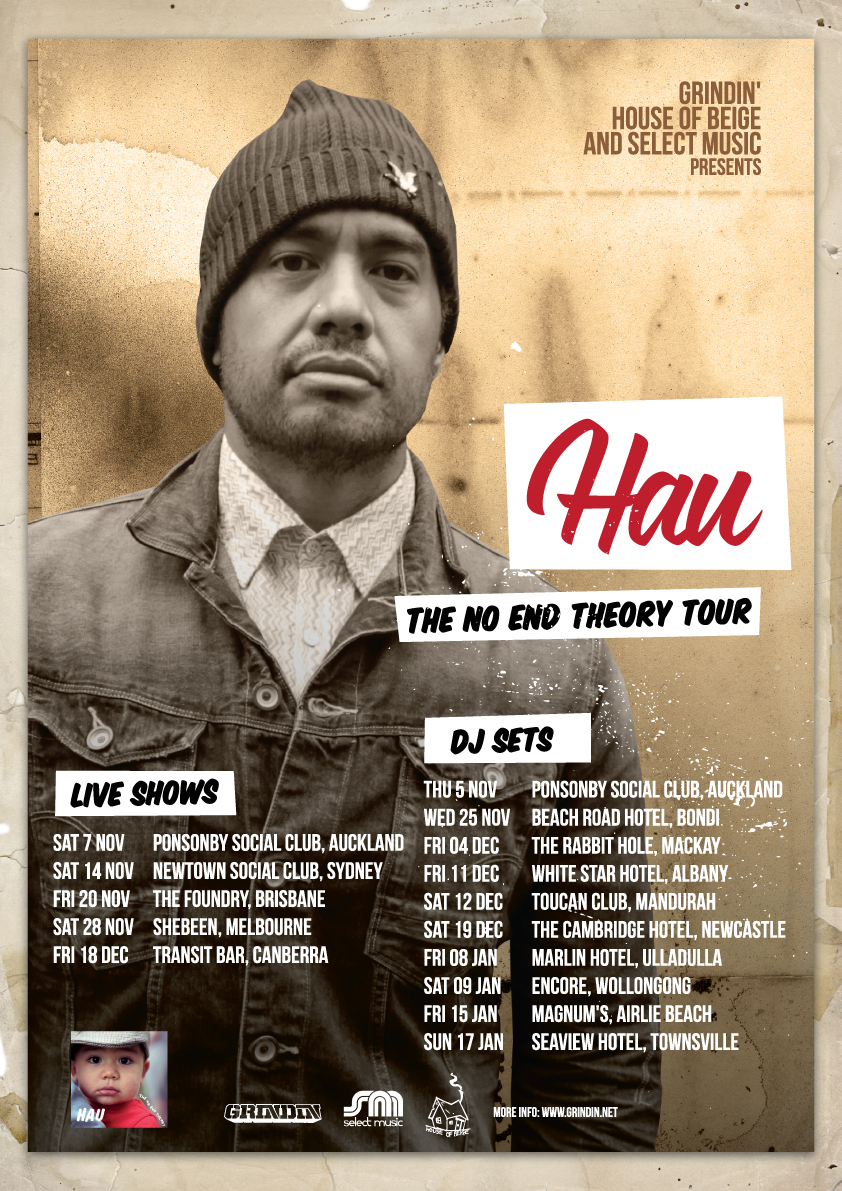"HAU ""THE NO END THEORY"" AUSTRALIA / NEW ZEALAND ALBUM LAUNCH TOUR"