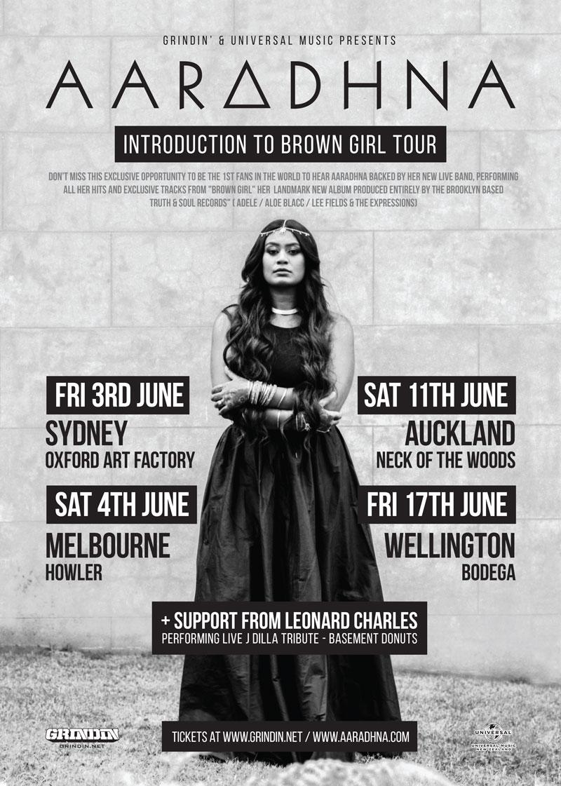 AARADHNA AUSTRALIA & NEW ZEALAND TOUR