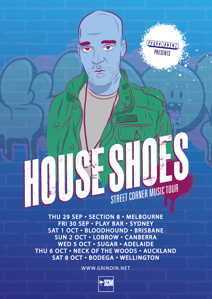"HOUSE SHOES ""STREET CORNER MUSIC"" AUSTRALIA / NEW ZEALAND TOUR"