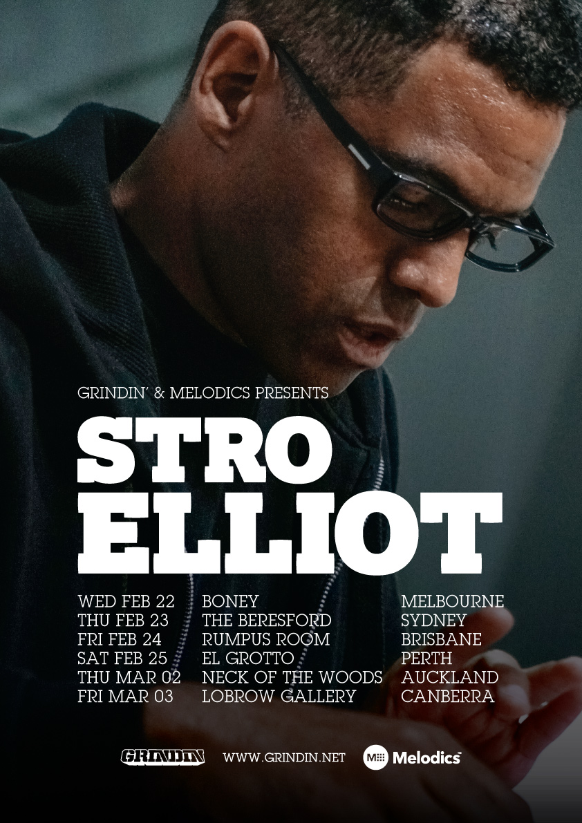STRO ELLIOT AUSTRALIA / NEW ZEALAND TOUR