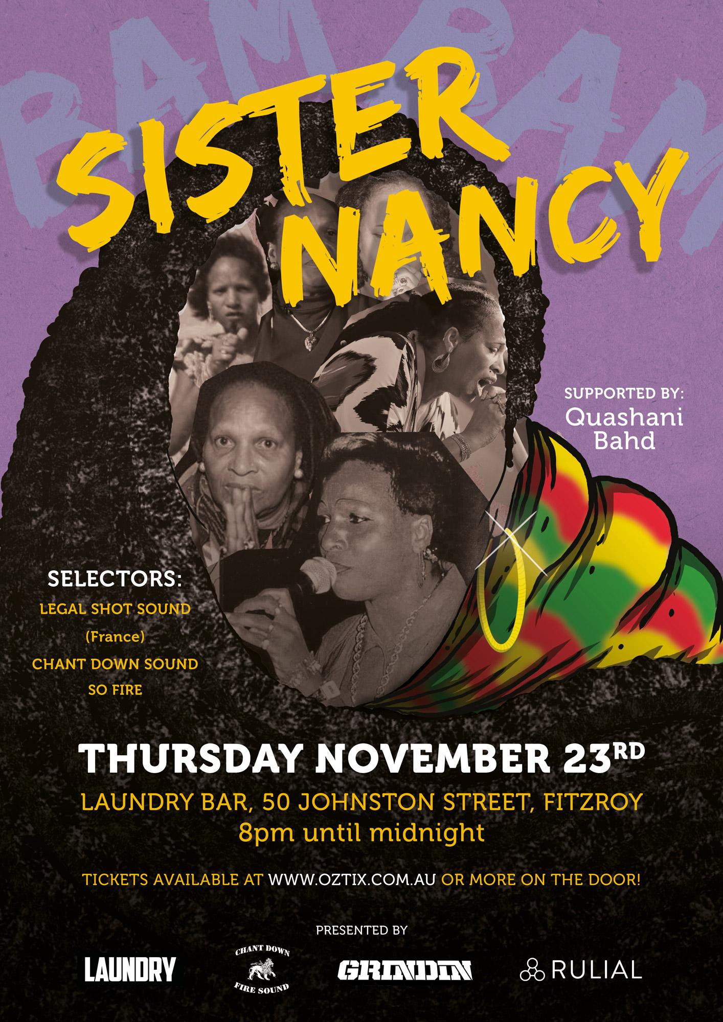 SISTER NANCY @ LAUNDRY BAR, MELBOURNE