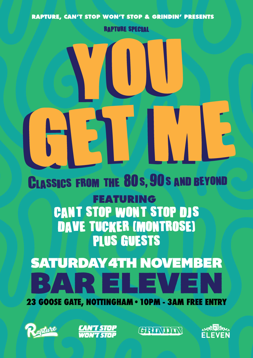 YOU GET ME @ BAR ELEVEN, NOTTINGHAM